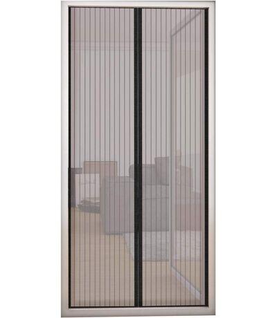 Rideau moustiquaire de porte fermeture magnétique
