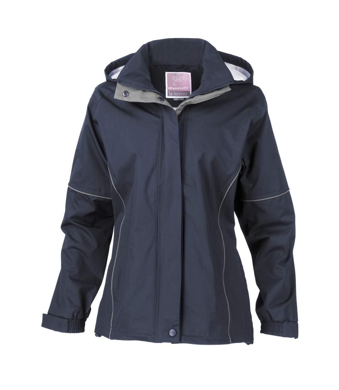 Result Womens/Ladies Urban Fell Lightweight Technical Jacket (Waterproof & Windproof) (Navy Blue) - UTBC3049