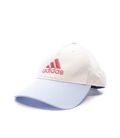 Casquette blanche femme Adidas LK Graphic CAP