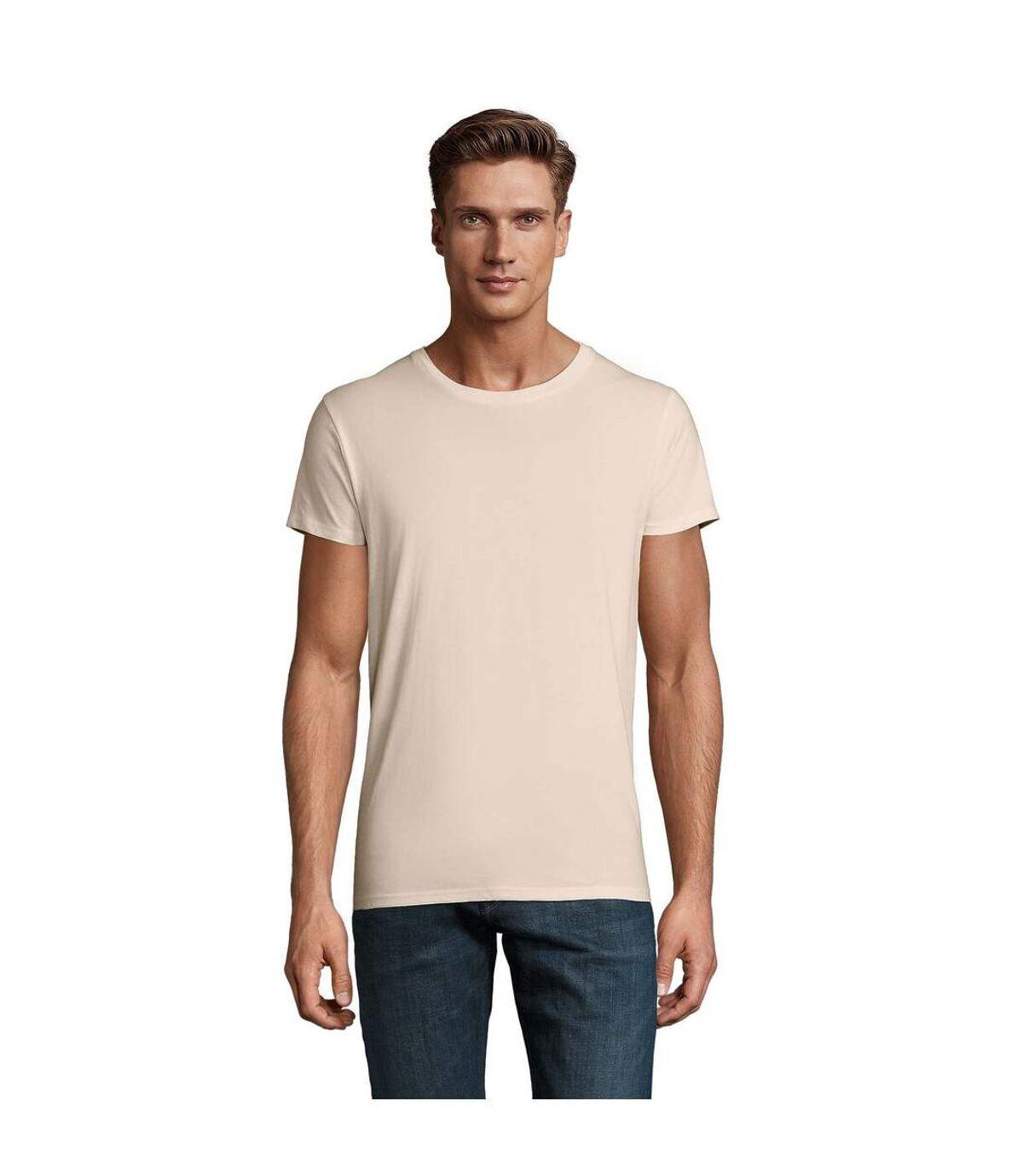 SOLS Mens Crusader Organic T-Shirt (Natural) - UTPC4316