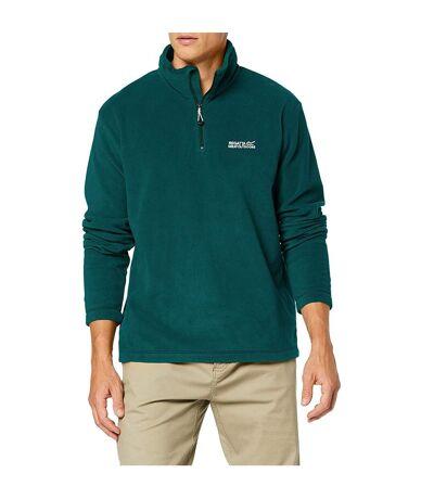 Regatta Mens Thompson Half Zip Fleece Top (Deep Teal) - UTRG5292
