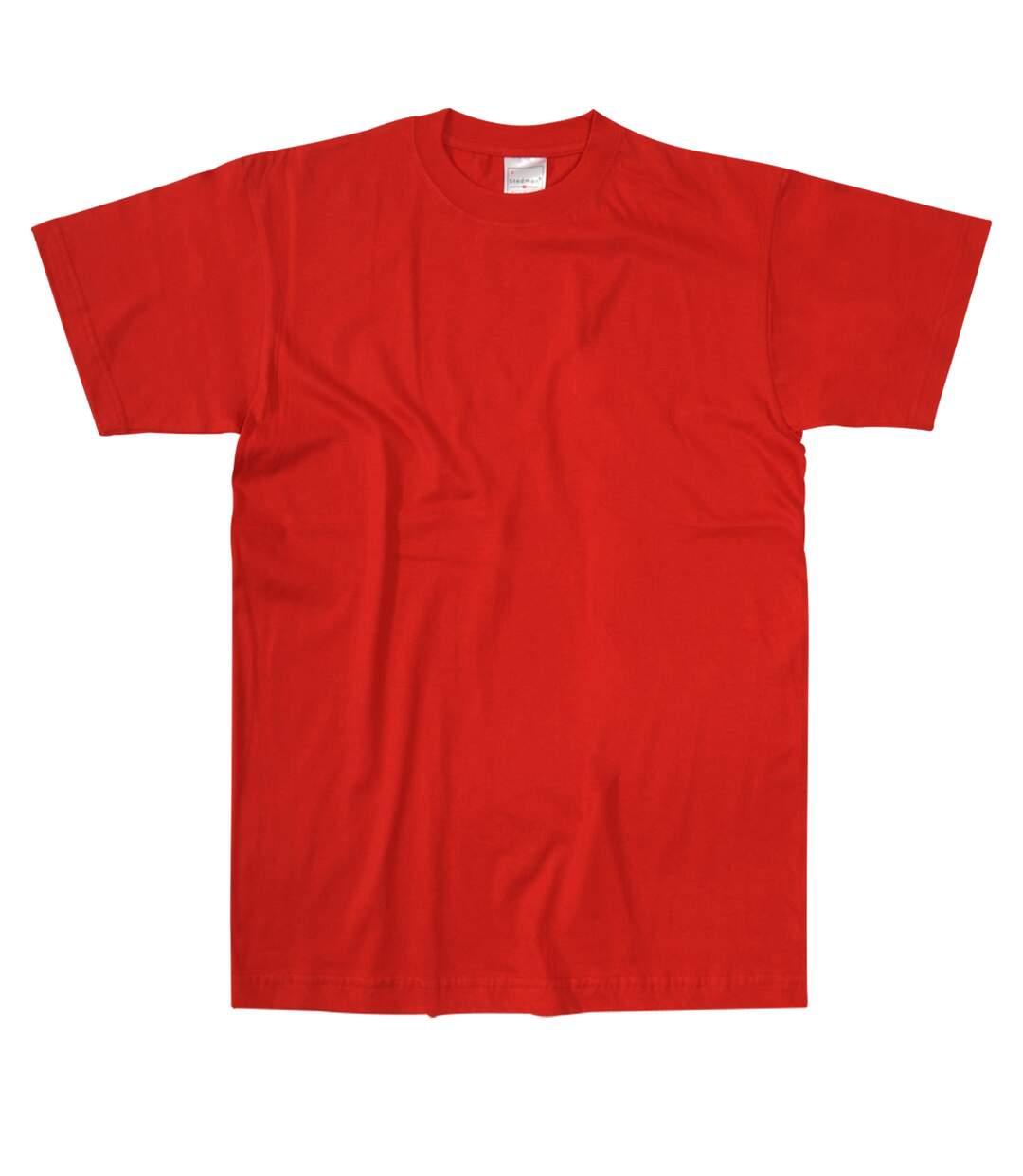 Stedman Mens Comfort Tee (Scarlet Red) - UTAB272