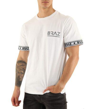 Tee shirt coton uni BR 213230  -  Braz - Homme
