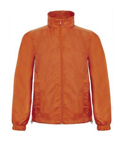 B&C - Veste coupe-vent - Hommes (Orange) - UTRW3524