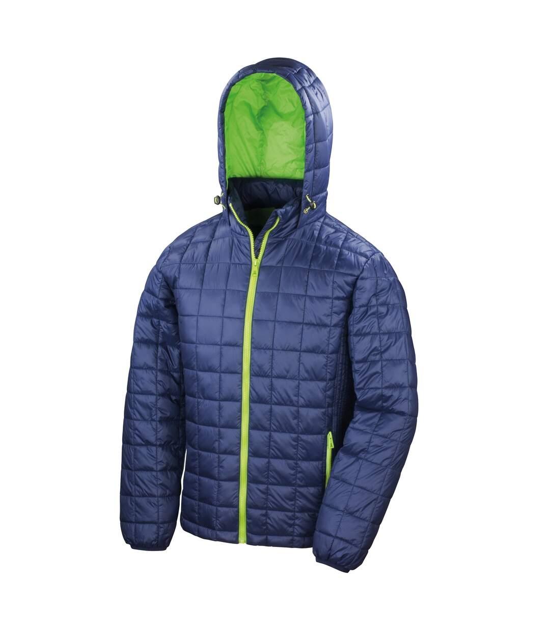 Result Adults Unisex Urban Outdoor Blizzard Jacket (Navy/Jasmine) - UTRW5159