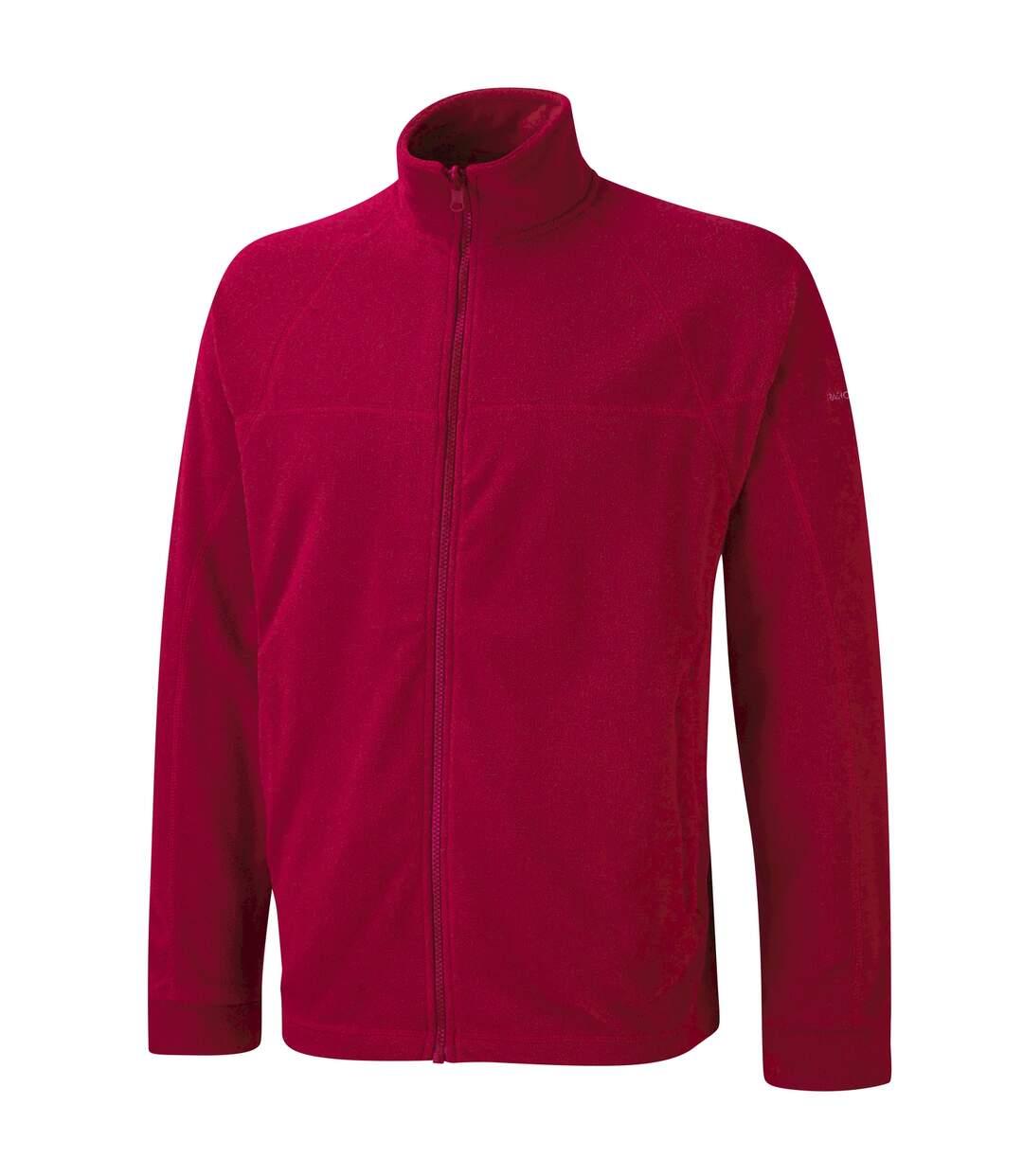 Craghoppers Mens Basecamp Microfleece FZ Full Zip Jacket (Red) - UTRW367