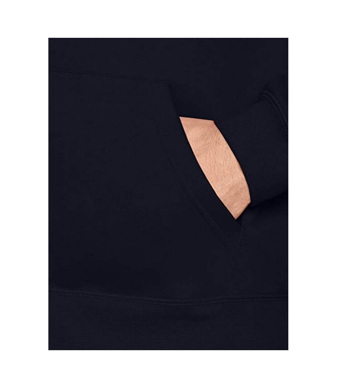 Fruit Of The Loom Mens Premium 70/30 Hooded Zip-Up Sweatshirt / Hoodie (Deep Navy) - UTRW3161