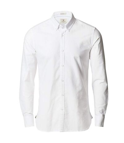 Nimbus Mens Rochester Slim Fit Long Sleeve Oxford Shirt (White) - UTRW5439