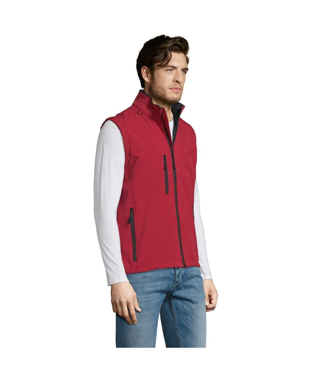 SOLS Mens Rallye Soft Shell Bodywarmer Jacket (Royal Blue) - UTPC349