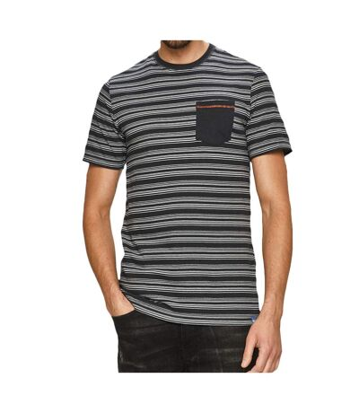 T-Shirt marine homme Only&Sons ONSHASSE Life Slim Tee