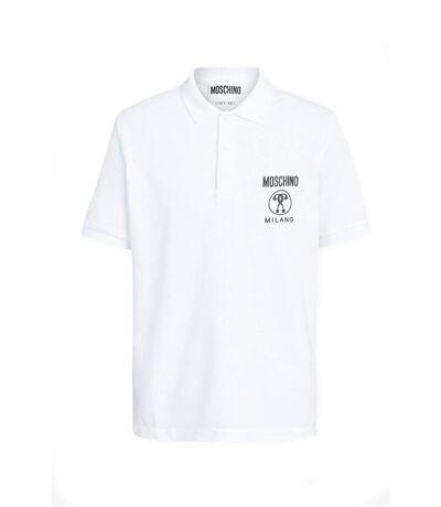 Polo logo coton piqué ZA1211  -  Moschino - Homme
