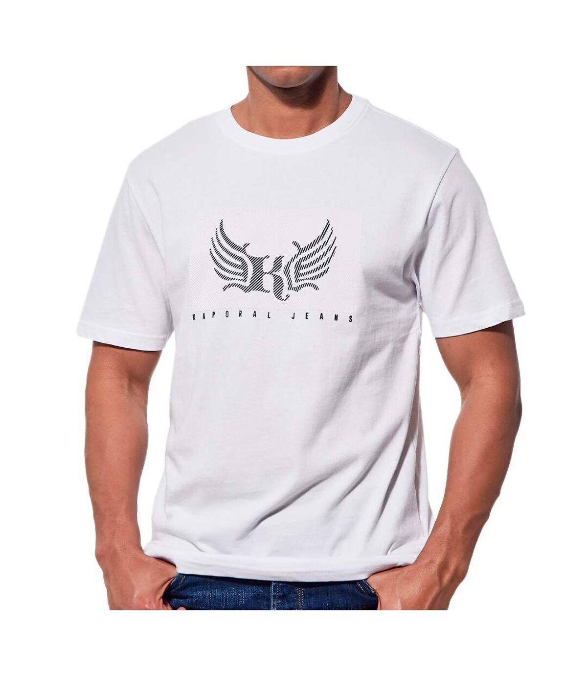 T-shirt Blanc Homme Kaporal Live