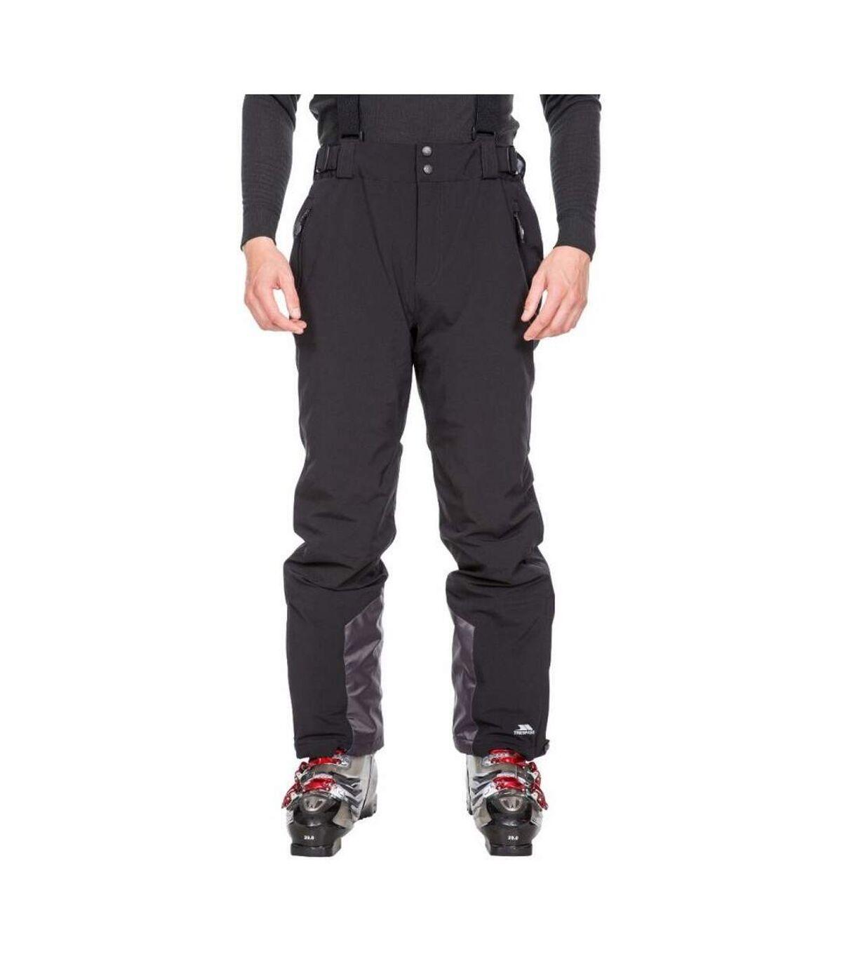 Trespass Mens Trevor Ski Trousers (Black) - UTTP5222