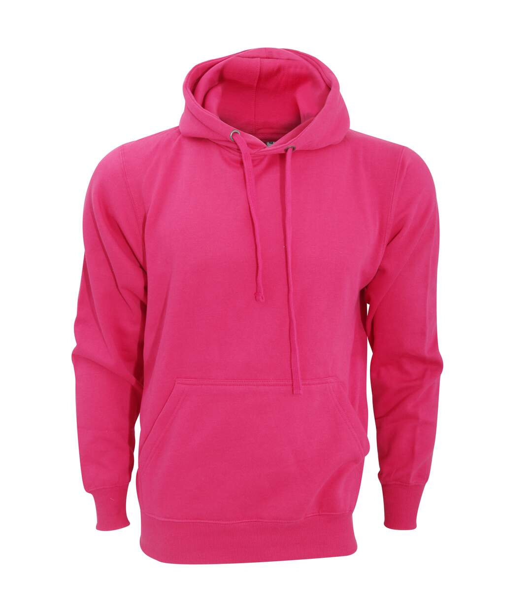 FDM Unisex Tagless Hooded Sweatshirt / Hoodie (Fuchsia) - UTBC2031
