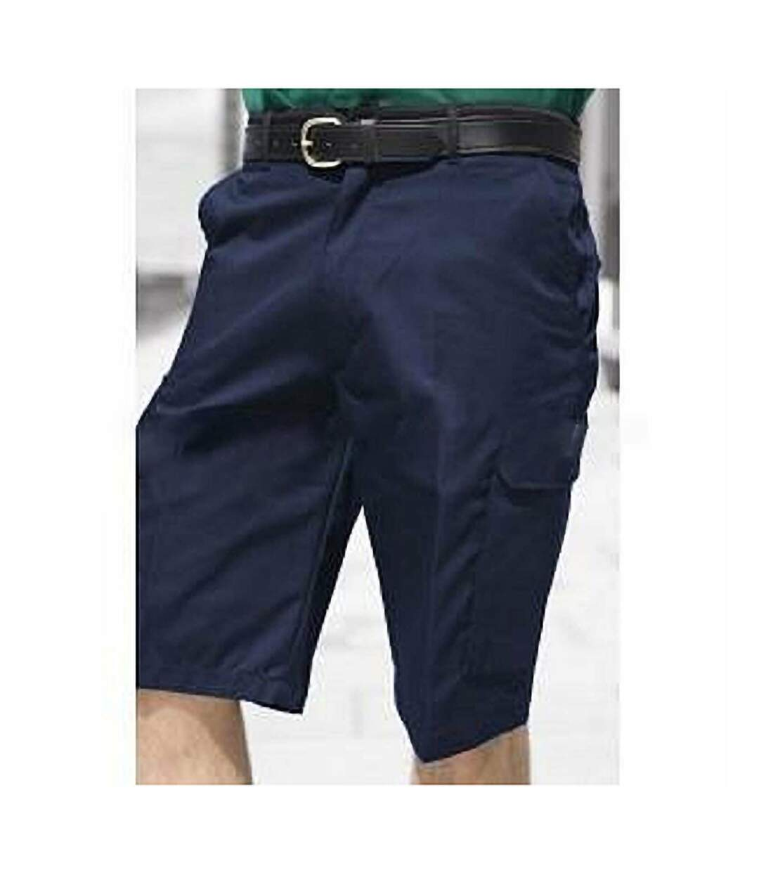 Warrior Mens Cargo Work Shorts (Harbour Navy) - UTPC142