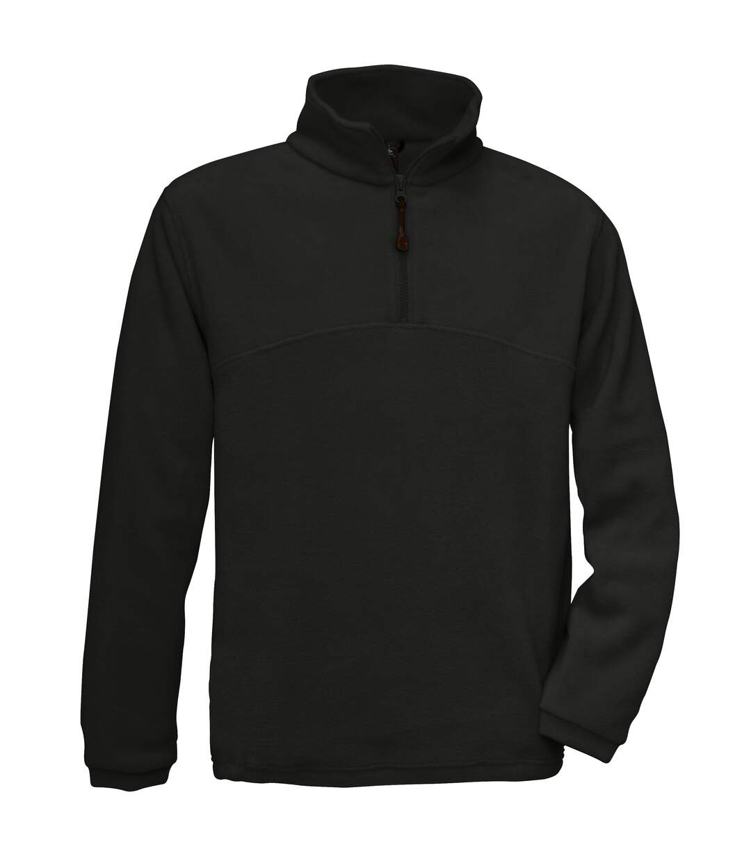 B&C Mens Highlander+ 1/4 Zip Fleece Top (Red) - UTRW3031