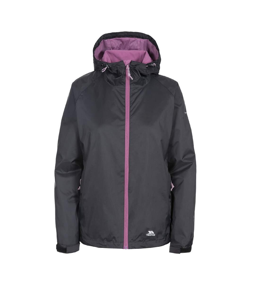 Trespass Womens/Ladies Tayah II Waterproof Shell Jacket (Black) - UTTP3378