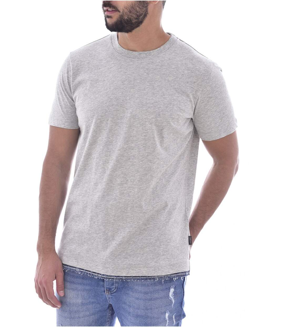 Tee shirt coton finition denim  -  Diesel - Homme