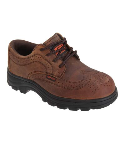 Result Mens Work-Guard S1P Managers Lace Up Safety Brogues (Brown) - UTPC2554