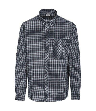 Trespass Mens Snyper Check Shirt (Blue Check) - UTTP3805