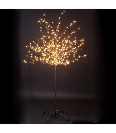 Arbre de Noël lumineux Xmas - L. 90 x H. 120 cm - Lumière blanc chaud