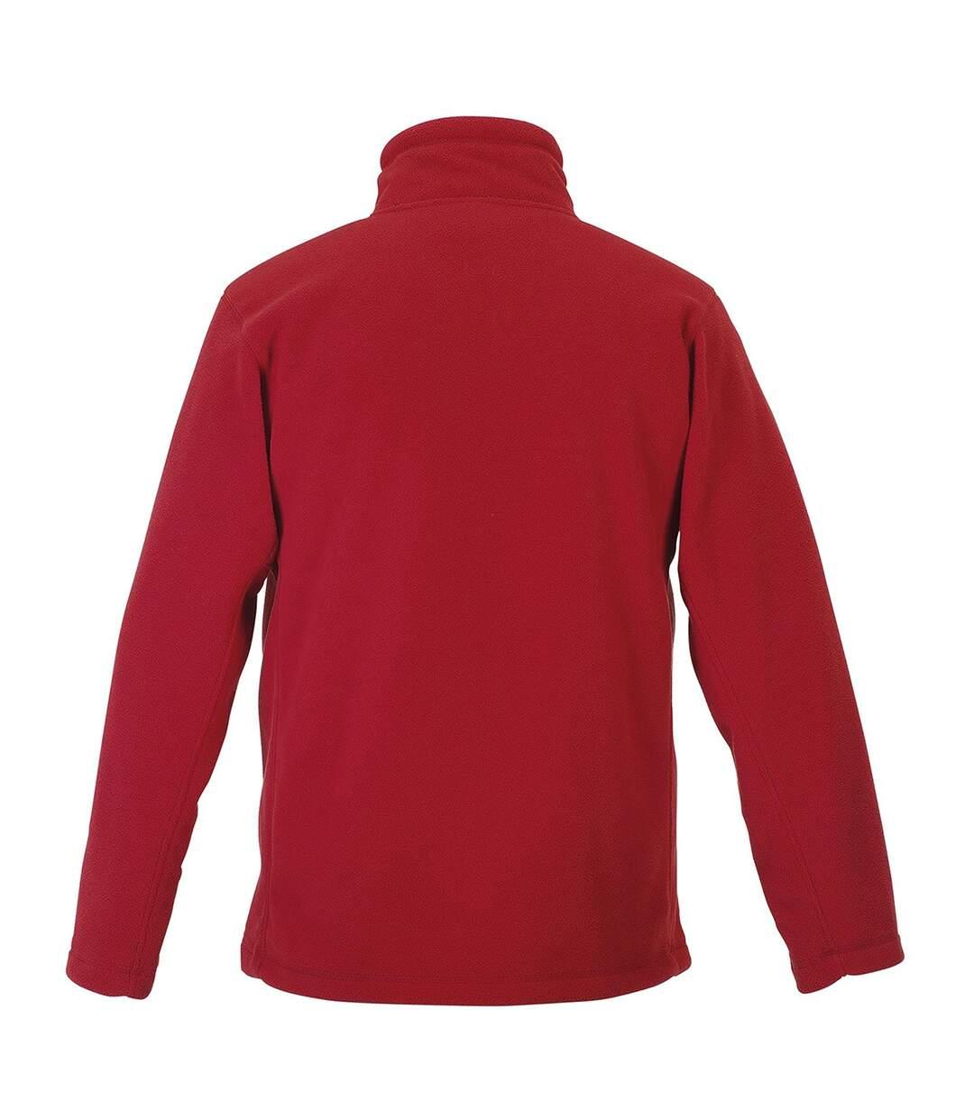 Russell Mens Full Zip Outdoor Fleece Jacket (Classic Red) - UTBC575