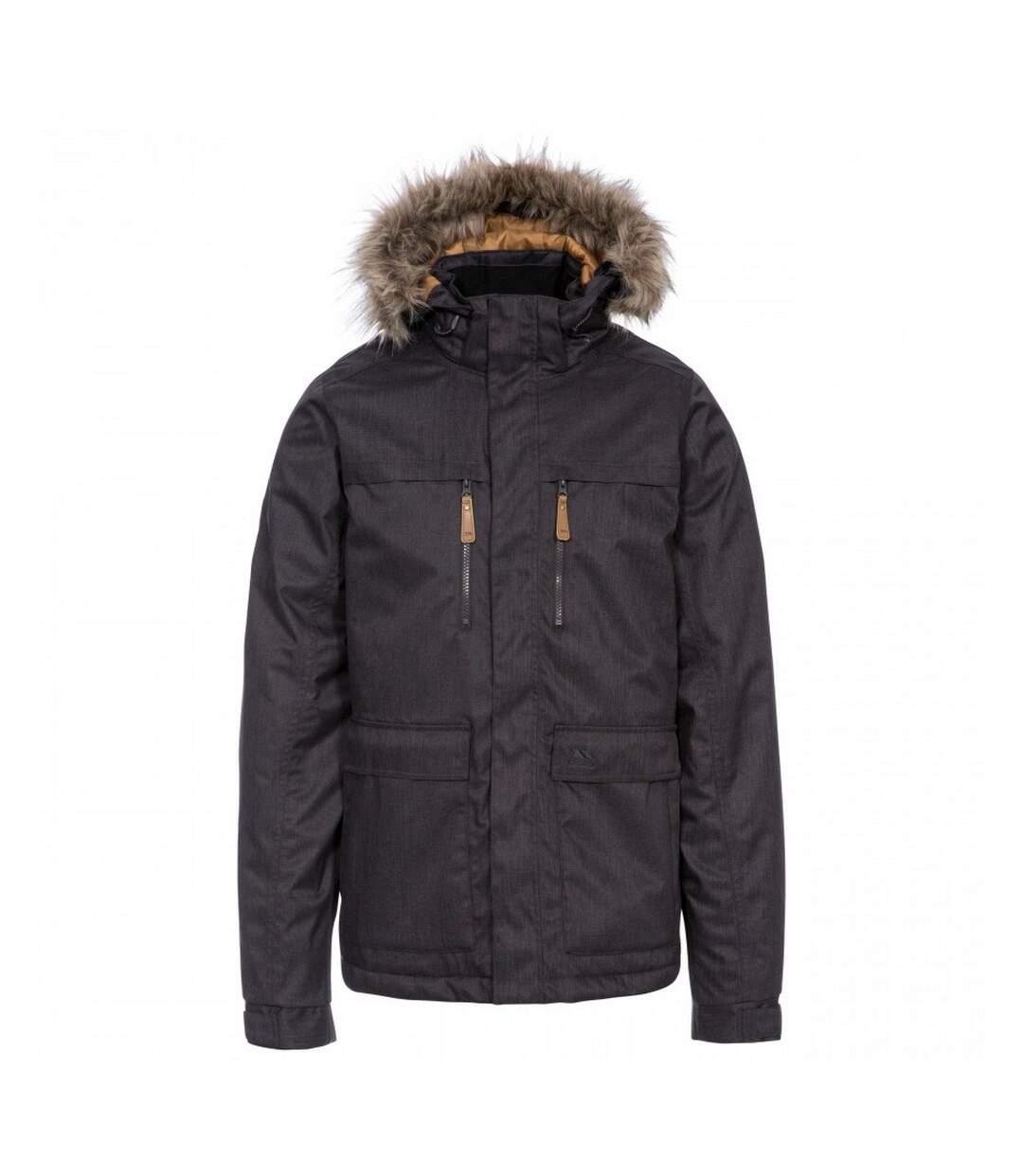 Trespass Mens King Peak Waterproof Jacket (Dark Grey) - UTTP4357