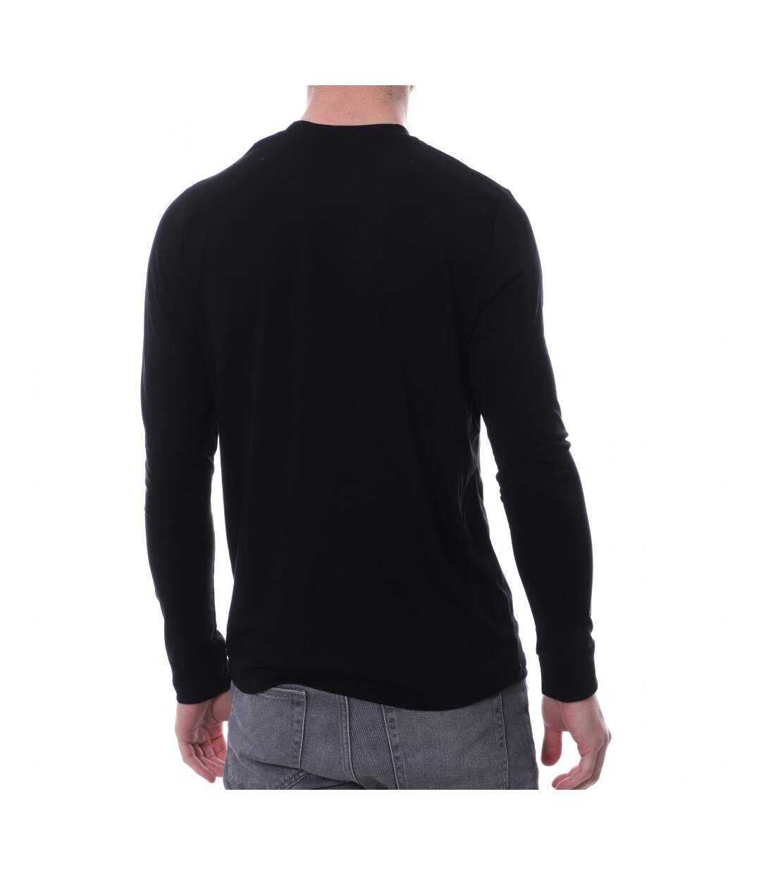 Tee-Shirt Noir Homme HUNGARIA BASIC