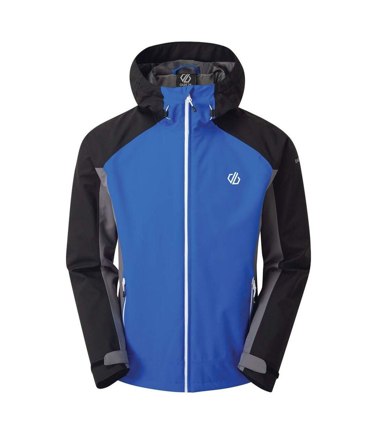Dare 2B Mens Recode Waterproof Jacket (Athletic Blue/Black) - UTRG4341