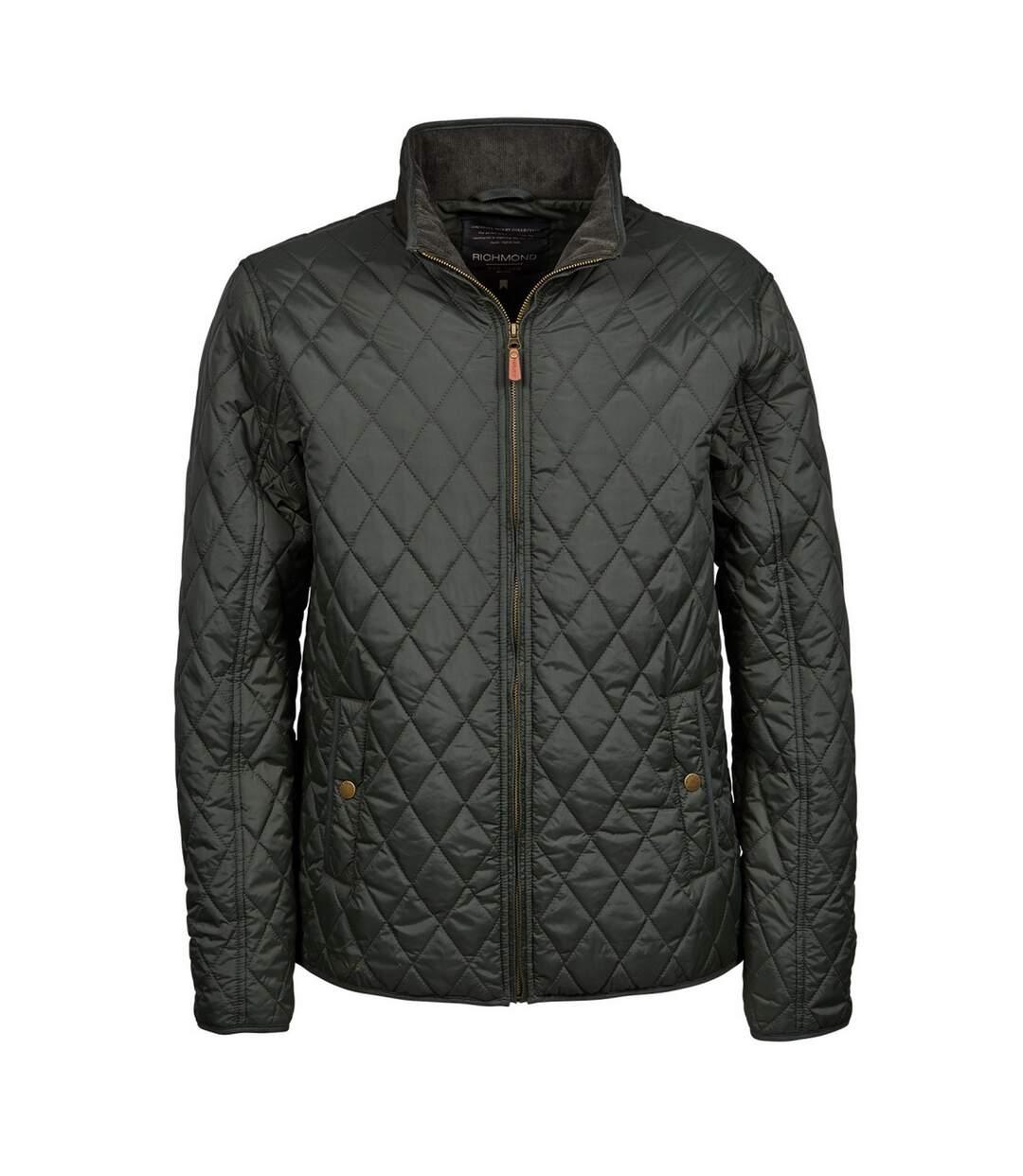 Tee Jays Mens Richmond Diamond Quilted Jacket (Deep Navy) - UTBC3838
