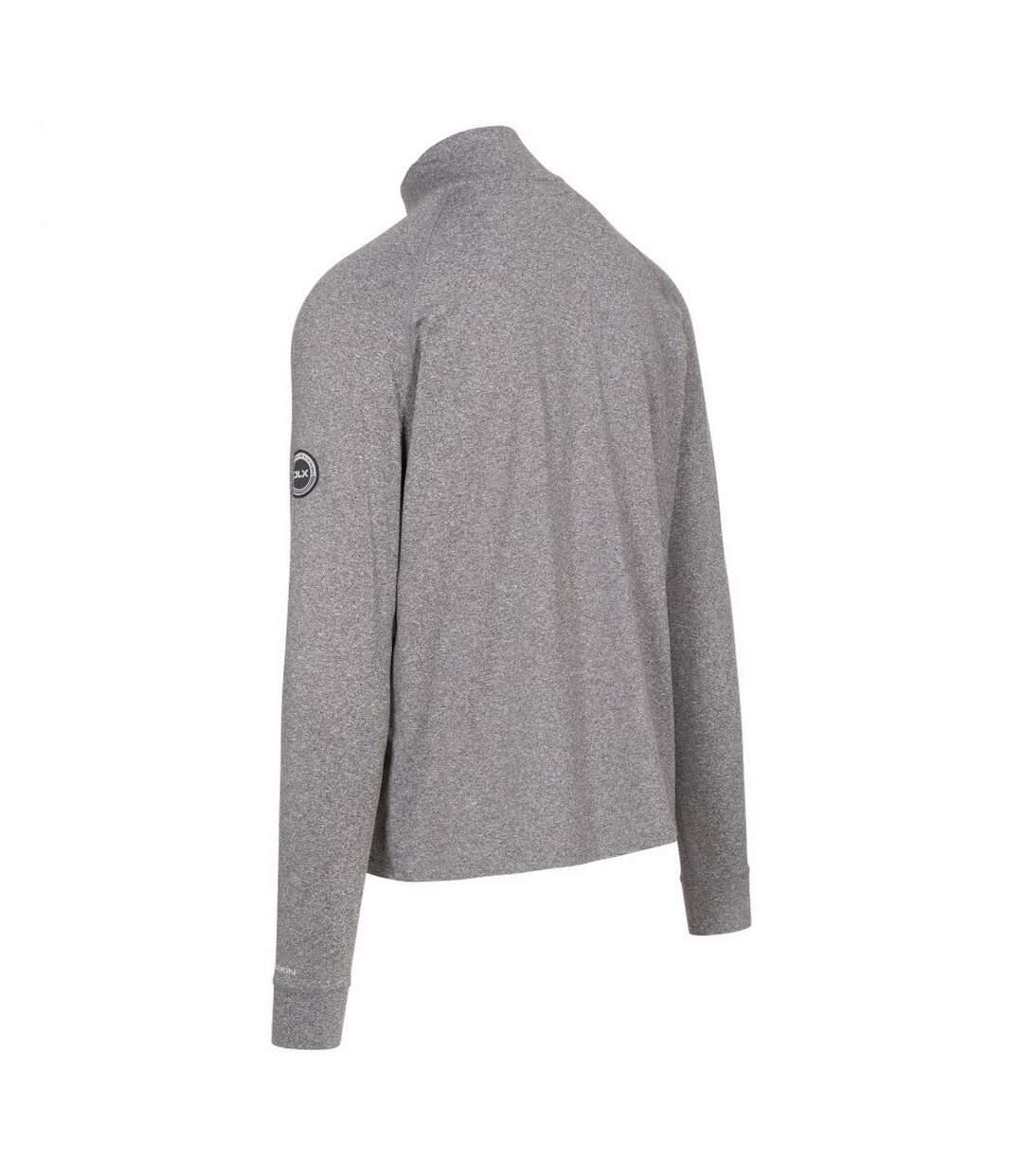 Trespass Mens Nicholas Long-Sleeved Sports Top (Grey Marl) - UTTP5242