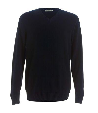 Kustom Kit Mens Heavyweight Arundel Sweater (Navy) - UTRW3902
