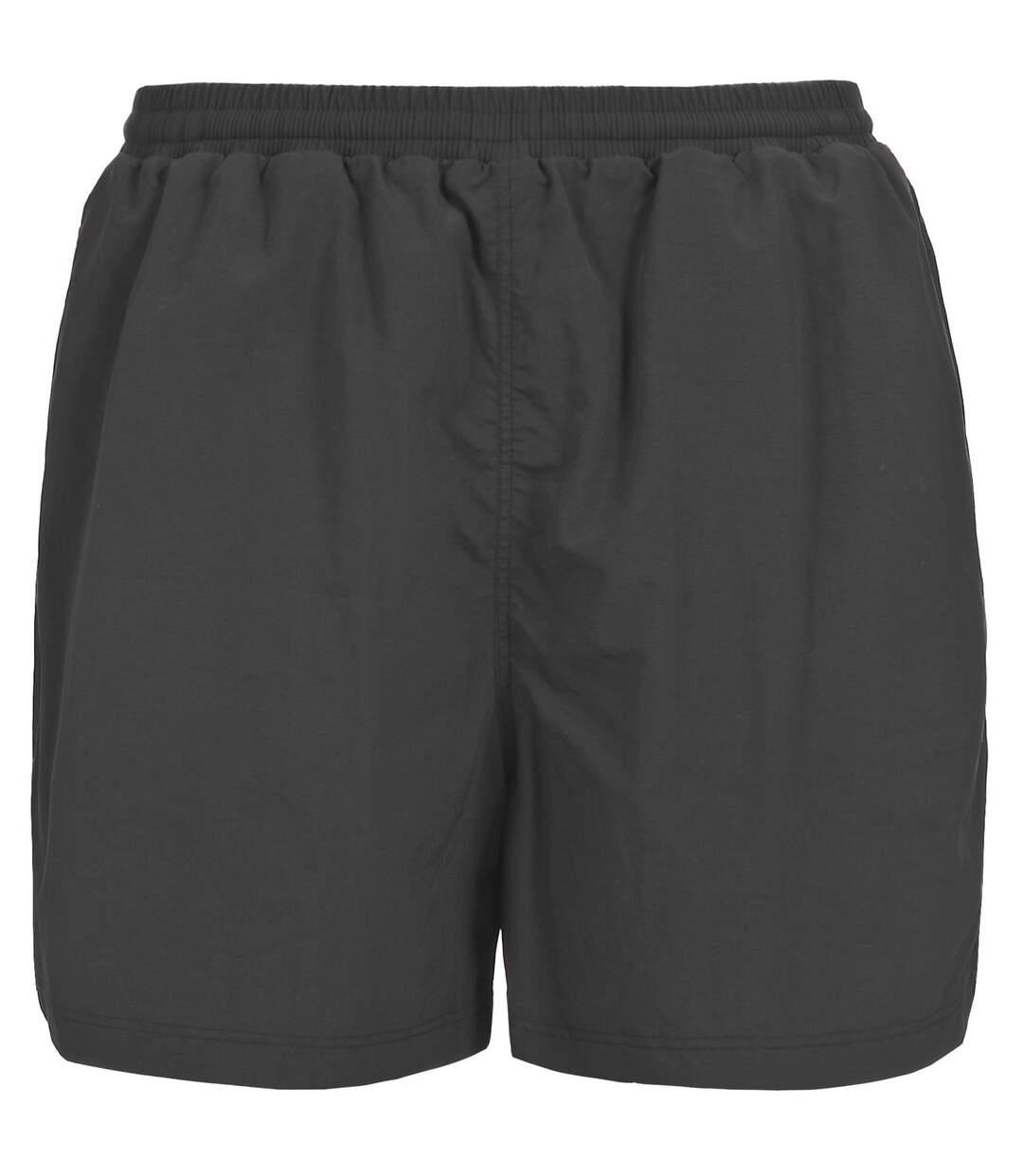 Trespass Mens Lamium Elasticated Swim Shorts (Black) - UTTP237