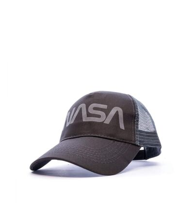Casquette Anthracite Homme Nasa Filet Worm