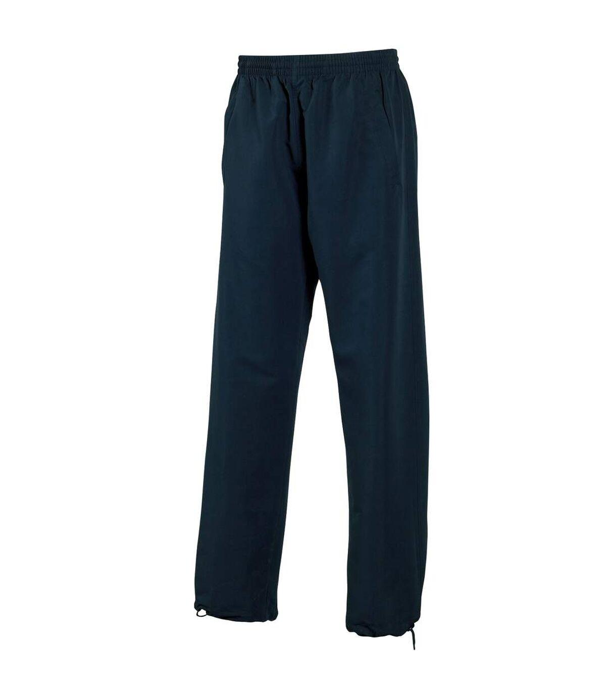 Tombo Teamsport Mens Open Hem Unlined Training Pants / Jogging Bottoms (Navy) - UTRW1529