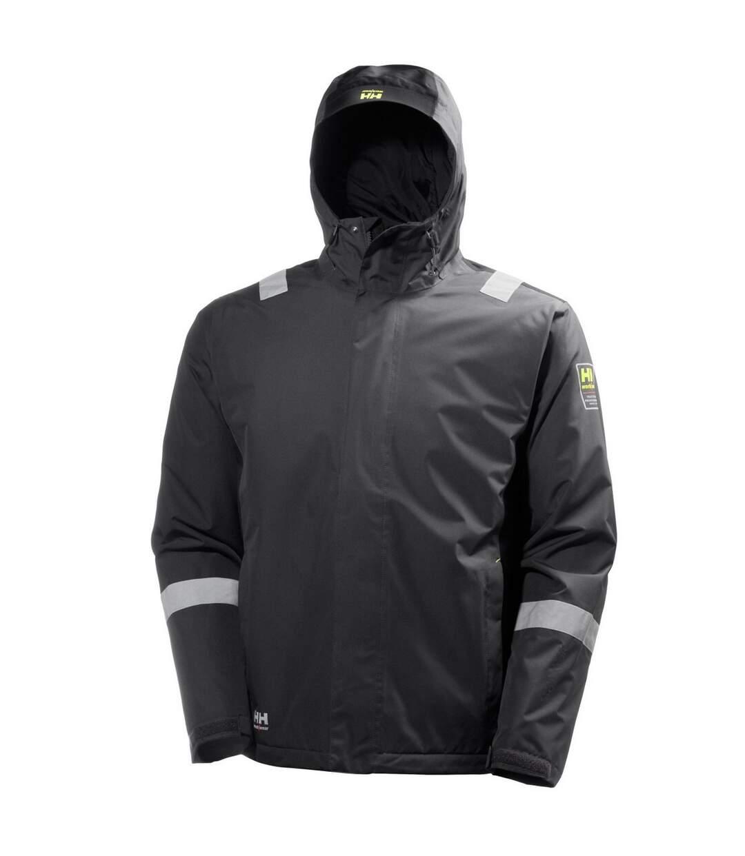 Helly Hansen Mens Aker Winter Jacket (Slate Grey/Black) - UTBC3946