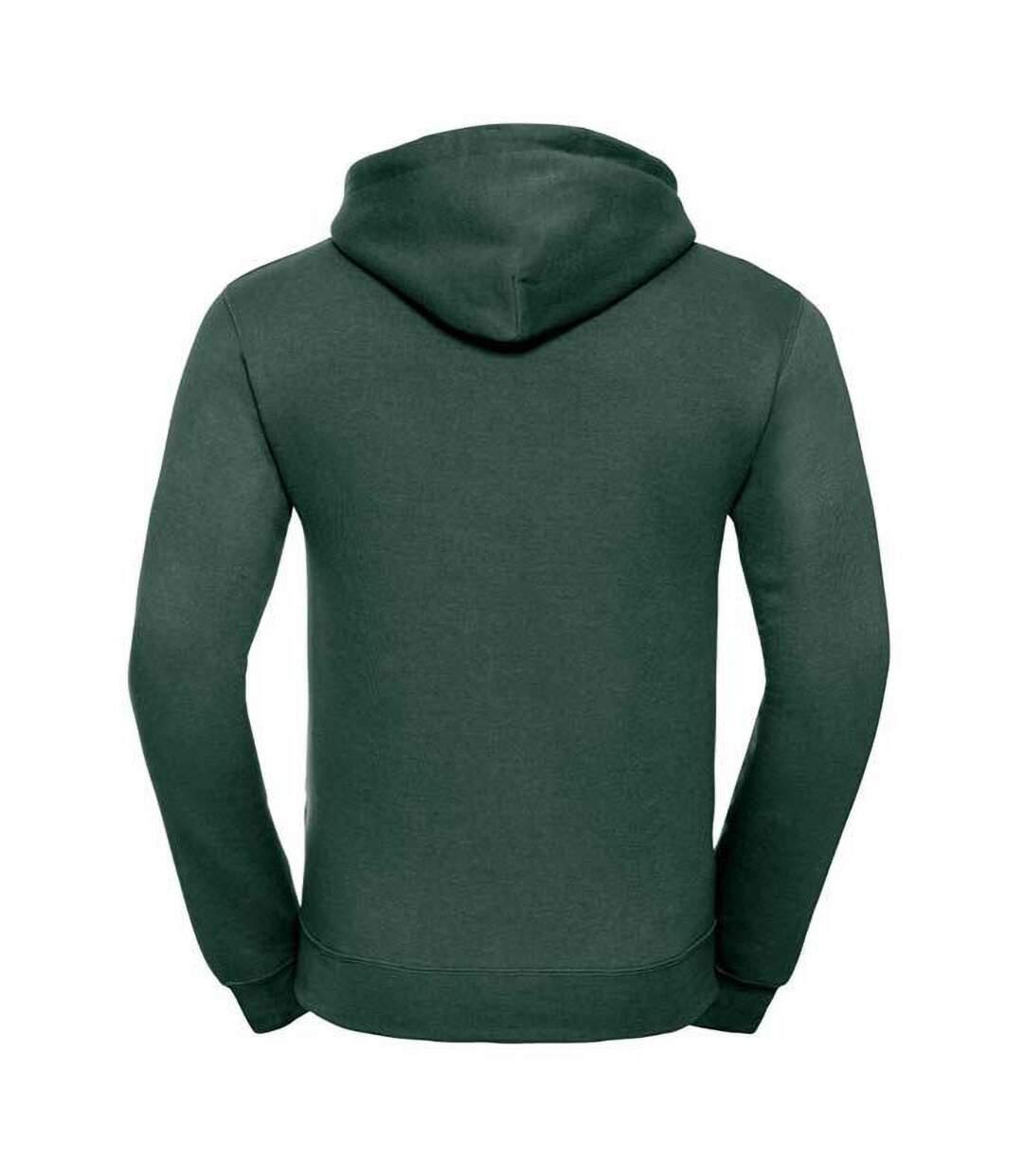 Russell Mens Authentic Hooded Sweatshirt / Hoodie (Bottle Green) - UTBC1498