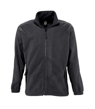 SOLS Mens North Full Zip Outdoor Fleece Jacket (Army) - UTPC343