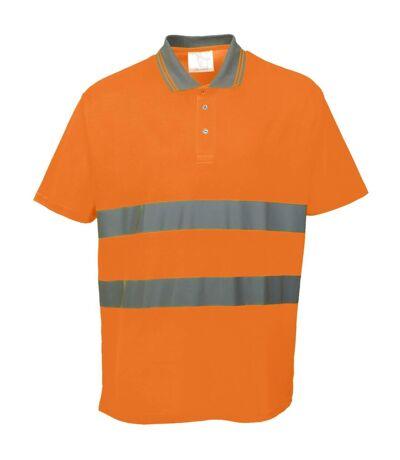 Portwest - T-shirt haute visibilité - Homme (Lot de 2) (Orange) - UTRW6901