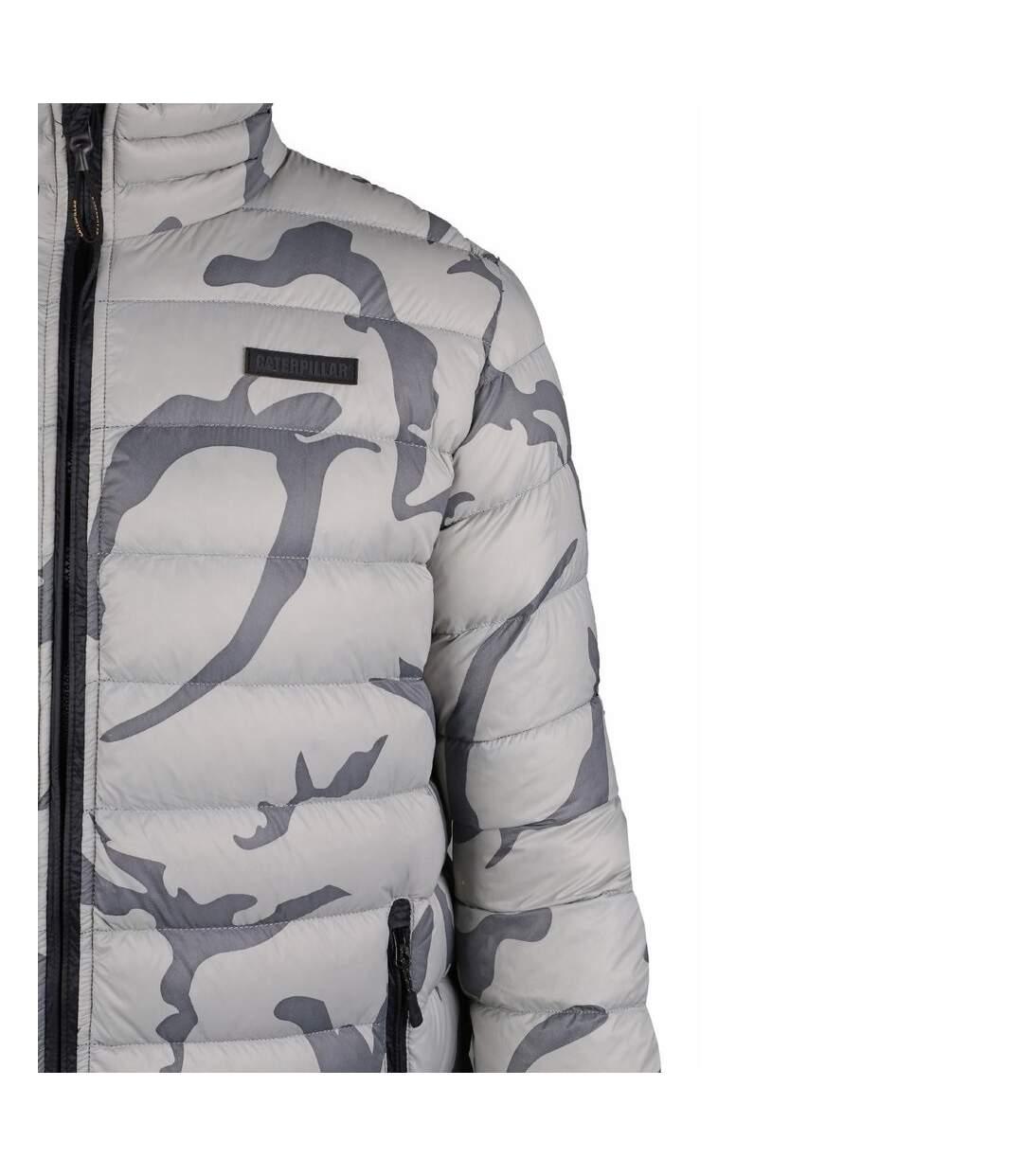 CAT Lifestyle Mens Brooklyn Down Camoflague Jacket (Camo) - UTFS4034