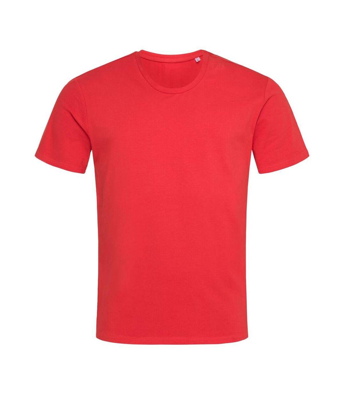 Stedman Mens Stars T-Shirt (Scarlet Red) - UTAB468
