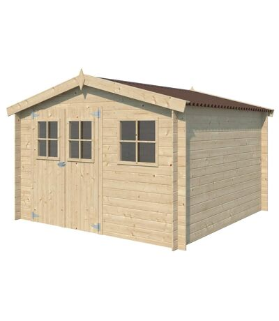 Chalet en bois 8.70 m² Malmo Sans option