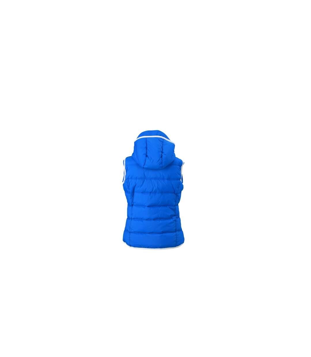 Doudoune sans manches pour femme - JN1075 - bleu nautique