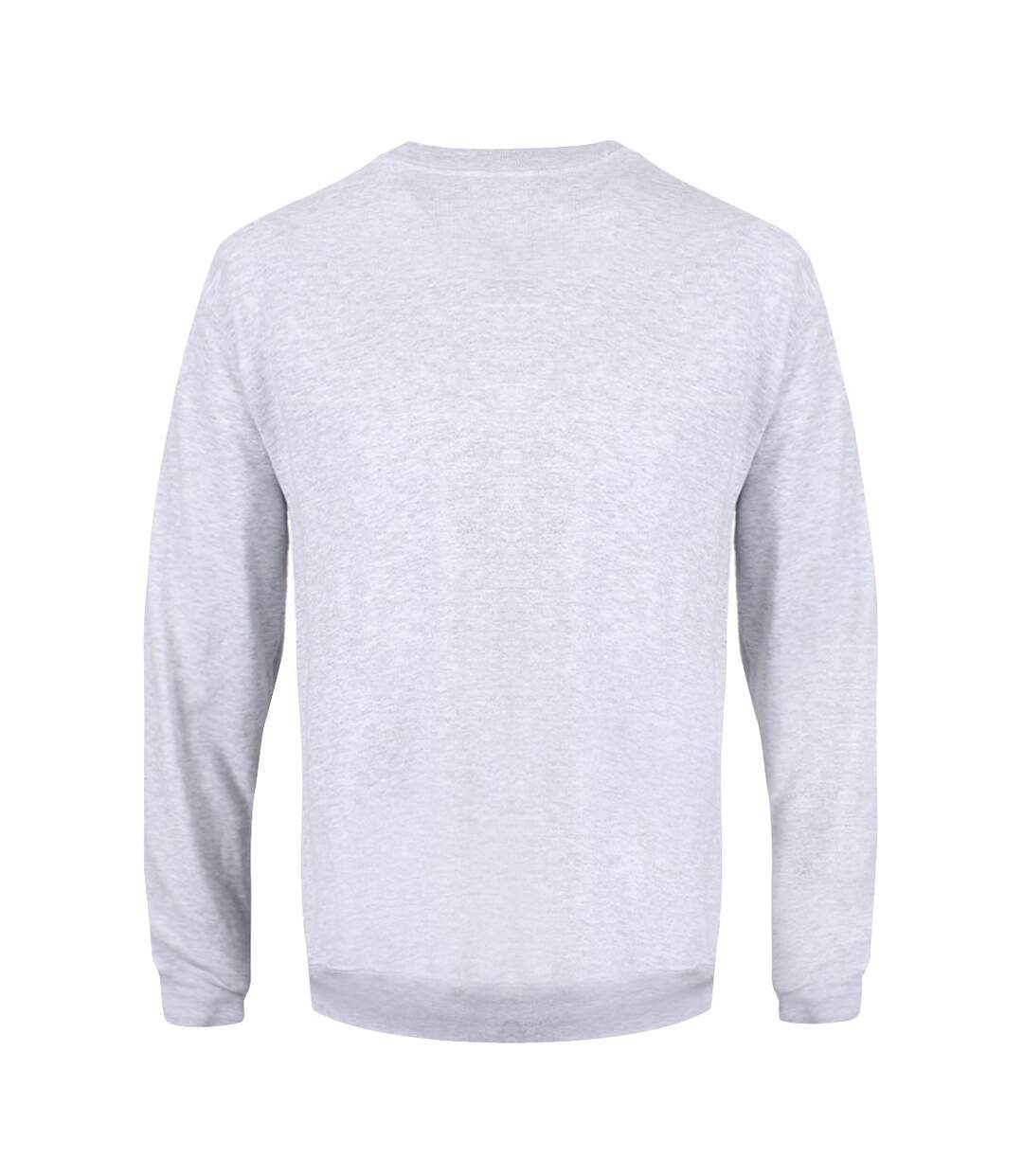 Grindstore Mens All I Want For Christmas Is Ru Christmas Jumper (Grey) - UTGR2966