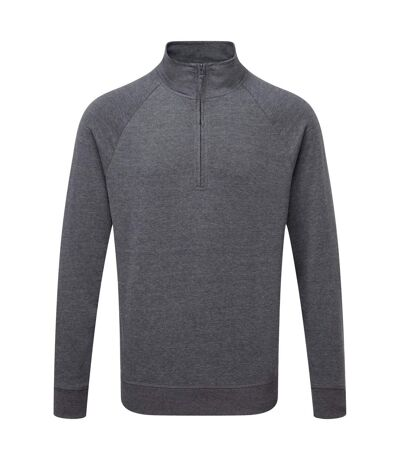 Russell Mens HD 1/4 Zip Sweatshirt (Grey Marl) - UTRW5503