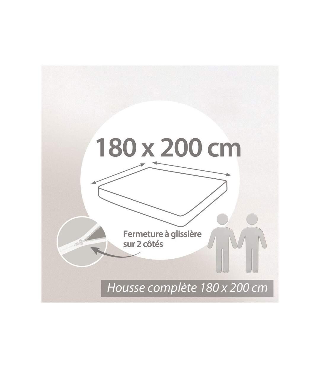 Housse de matelas imperméable Céline 180x200cm matelas 16 à 20cm