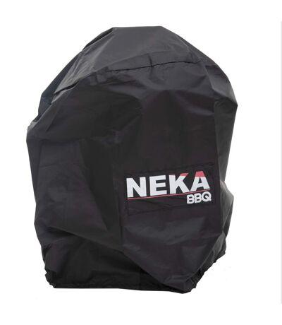 Housse de protection pour barbecue - L. 72 x H. 100 cm - Noir