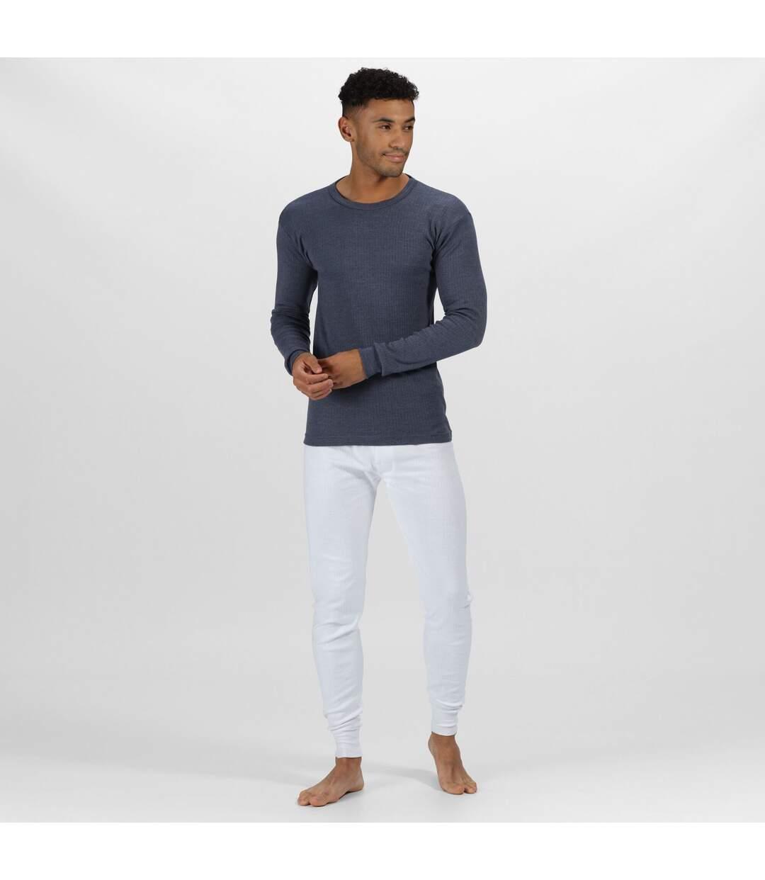 Regatta - T-shirt thermique à manches longues - Homme (Bleu denim) - UTRG1430