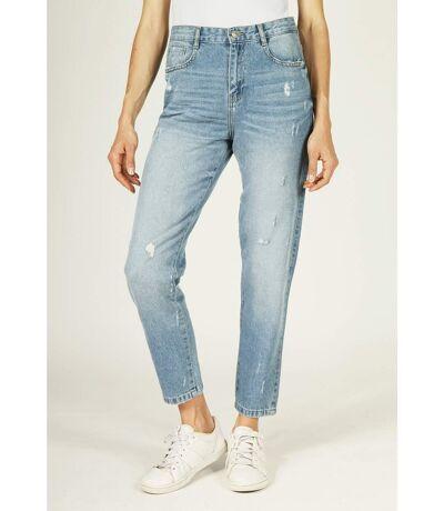Jeans coupe Mom coton PHOEBE denim