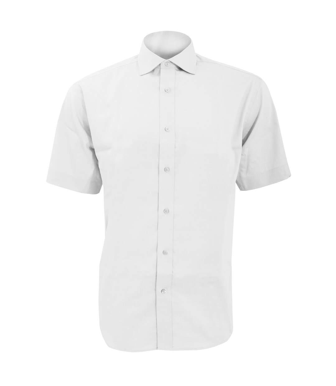 Kustom Kit - Chemise à manches courtes - Homme (Blanc) - UTBC598
